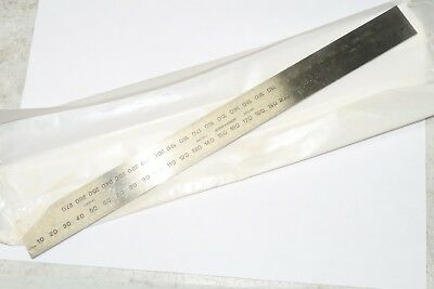 """NEW MOORE & WRIGHT CSRME12 COM-SET RULE / RULER, 12"""" / 300mm, MADE IN ENGLAND"""