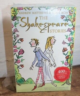 Shakespeare Childrens Stories 16 Books Box Complete Collection 400