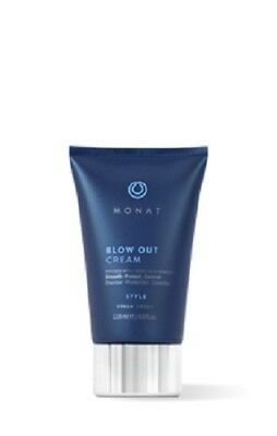 Monat Hair Blow Out Cream Infused with REJUVENIQE Style Smooth Protect Control