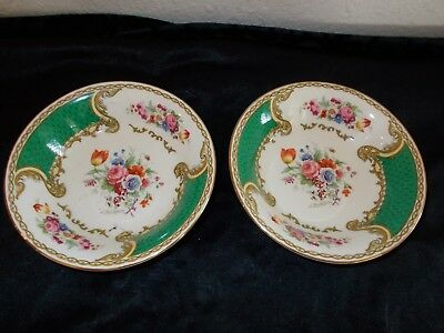 "2 Myott Royal Crown Bowls Staffordshire England 5"" diameter"