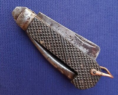 Original WW2 British Army Knife Military Pocket CLASP Knife 1942