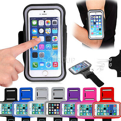 Gym Walking Jogging Sports Armband Exercise Cover Case Arm Band For Cell Phones