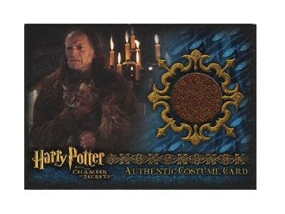 Harry Potter Costume Card Argus Filch David Bradley Chamber of Secrets 181/665