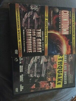 Disaster Double Feature Countdown And Earthquake Dvd