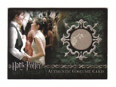 Harry Potter Costume Card Cho Chang Yule Ball Dress GOF C2 051/700 C2 Low #
