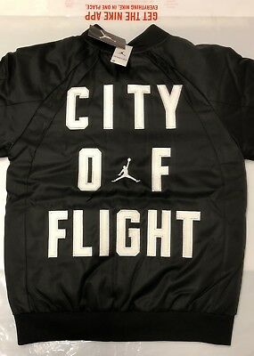 51f848d456cf1f Nike Air Jordan City Of Flight Reversible Boys 12-13 Bomber Jacket New With  Tags
