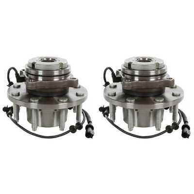 PAIR(2)515020 Front Wheel Hub Bearing For 2000-2004 Ford F250 F350 SRW 4WD w/ABS