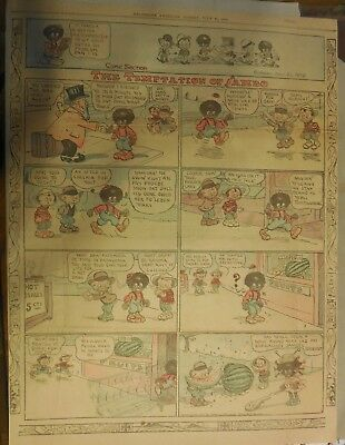 Sambo and His Funny Noises by Marriner from 7/21/1912 Full Size !