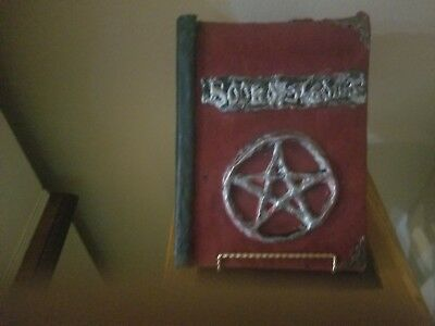 Book of shadows Hand crafted magical items TV & Movie Witch Craft Wiccan Occult