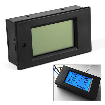 AC 80-260V 20A LCD Digital Volt Watt Current Power Meter Ammeter Voltmeter BI508