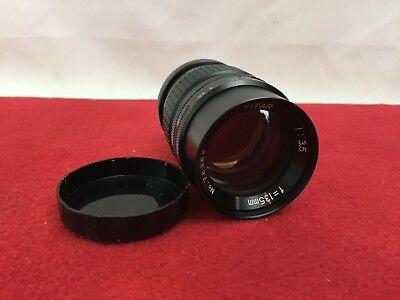 Titar -  135mm 1 :3.5 - Camera Lens - 42mm Screw Mount - With Caps -