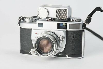Minolta Super A Camera w/ Coupled Meter & Super Rokkor 5cm f2 (Please Read)