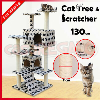 Cat Scratching Post Tree Gym House Climbing Condo Furniture Scratcher Pole Toy