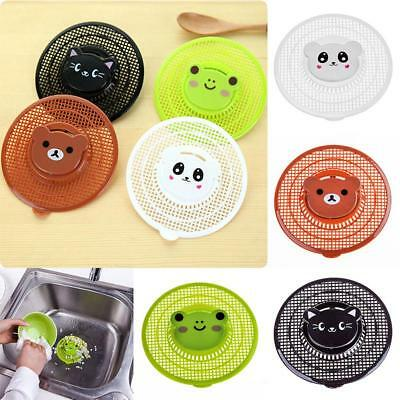 Cute Hair Catcher Bath Drain Tub Strainer Cover Sink Trap Basin Stopper Filter