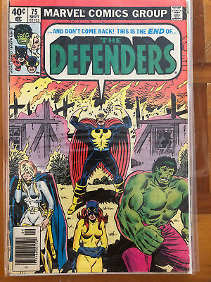 Defenders #75 & #77 and Dr. Strange #31.  Lot of 8 mixed comics