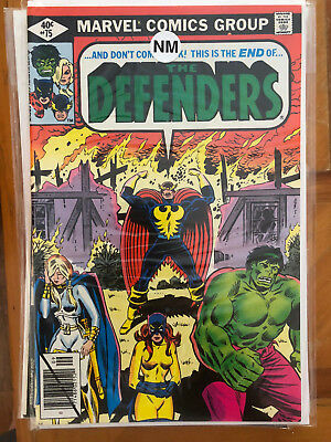 Defenders #75 & #78 and Dr. Strange #34.  Lot of 8 mixed comics