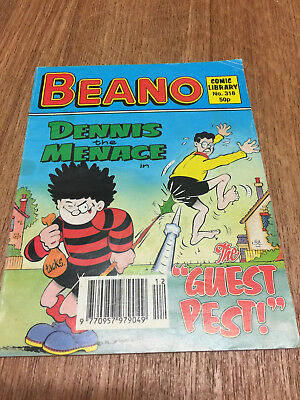Beano Comic Library No 318, 1995, Dennis the Menace, FREE UK POSTAGE
