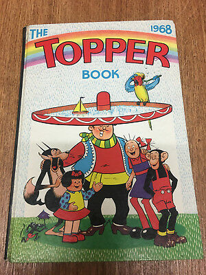 The Topper Book 1968 Annual, DC Thomson, FREE UK POSTAGE