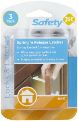 Safety 1st 3 Packs Spring And Release Latches