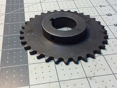 "Sprocket 35B32 1-1/8"" Bore 3/8"" Pitch 32 Teeth 2"" Hub #R399"