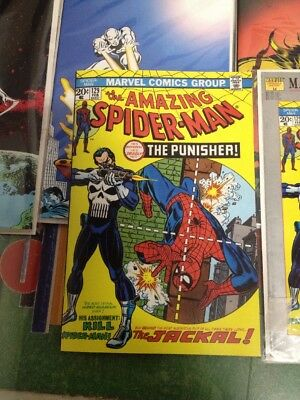 The Amazing SpiderMan 129 Milestone  Reprint With Custom Cover