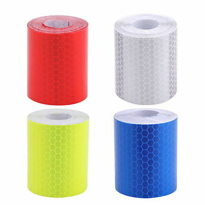 5cm X 3m Car Truck Reflective Safety Warning Conspicuity Roll Tape Sticker Film