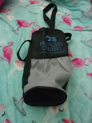 Princess Cruise Lines Tote Bag Thermal Drink Carrier Wine Water Bottle