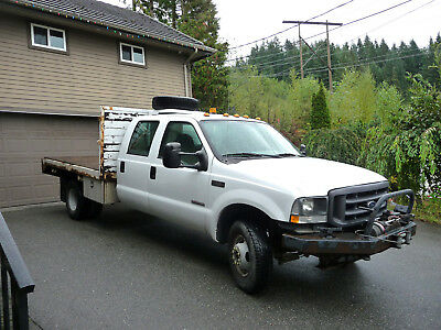 2004 Ford F350 Dually Crew Cab XL 4X4 Diesel with Flatdeck 2004 Ford F350 Dually Crew Cab XL 4X4 Diesel with Flatdeck