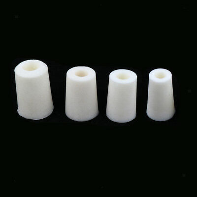 Set of 4x Glassware Tube Silicone Stopper Plugs Wine Bottle Stopper 20-38mm