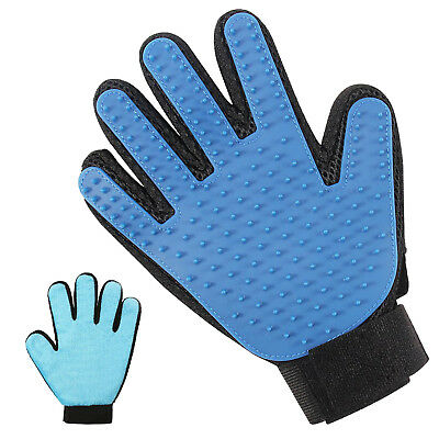 Pet Grooming Gloves Hands On Grooming Mitt A Joy Both For The Animal & The Owner