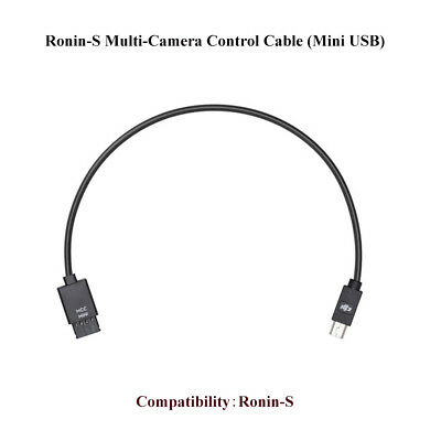 Genuine DJI Ronin-S Multi-Camera Control Cable (Mini USB)