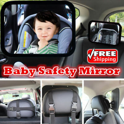 Car Baby Seat Inside Mirror View Back Safety Rear Facing Baby Child Infant Care