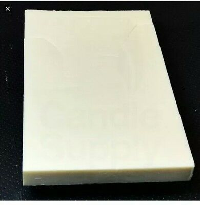 ^ SOY Wax Coconut Wax Slabs C6 Premium Blend Nature Wax 60LBS/27KG 9:20