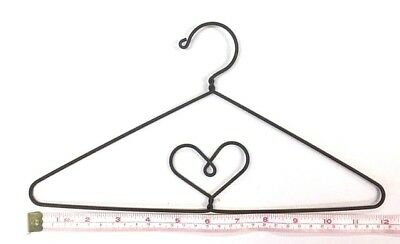 "3X  Wire Quilt Hanger  12"" x 6-3/8"" High  ""Heart  in Centre"" Theme"