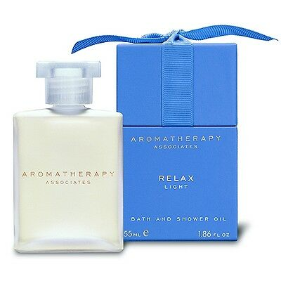 1 PC Aromatherapy Associates Relax Bath and Shower Oil Light Relax Natural 55ml