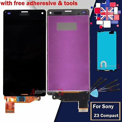 Digitizer Display For Sony Xperia Z3 Compact Mini D5803 LCD Touch Screen Black
