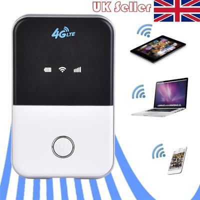 4G LTE Mobile WiFi Wireless Pocket Hotspot Router Modem Broadband Mifi Unlock UK