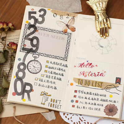 Photo Album Clear English Letter Transparent Stamp Silicone Rubber Scrapbooking