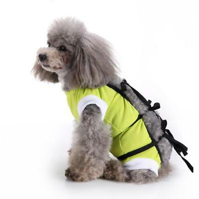 Pet Dog Cat Surgical Vest For Dogs Summer Abdomen Wounds Disease Protect After S