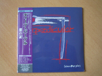 "DEEP PURPLE ""The Purpendicular""  Japan mini LP CD"