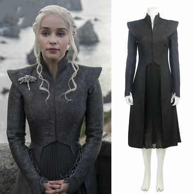 Cosplay Mother of Dragons Game of Thrones Season 7 Daenerys Targaryen Costume