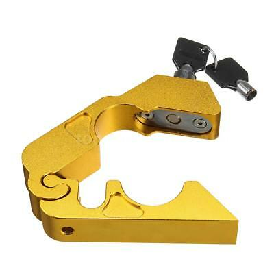Motorcycle Handlebar Lock Brake Clutch Security Theft Protection Lock I4Q7