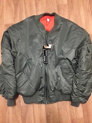 "Genuine TEESATR"" MA-1 Flight Jacket (new)"