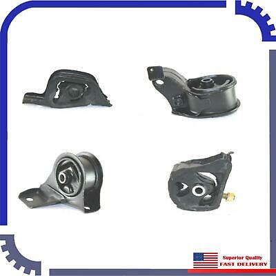 3 PCS Motor Mount For 1988-1991 Honda Civic 1.5L Automatic Trans.