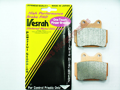 Yamaha FZS600 Fazer Vesrah (Made in Japan) HH Rear Brake Pads