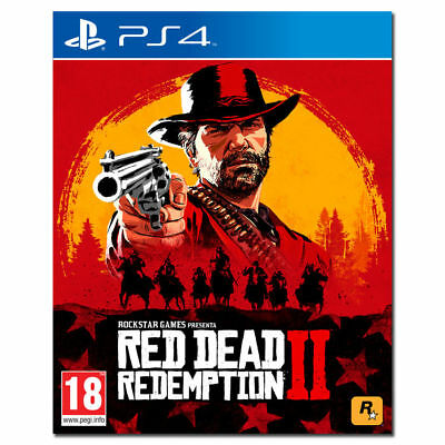 Red Dead Redemption Ii Ps4 - Playstation 4 - Italiano - Prevendita 26/10/2018