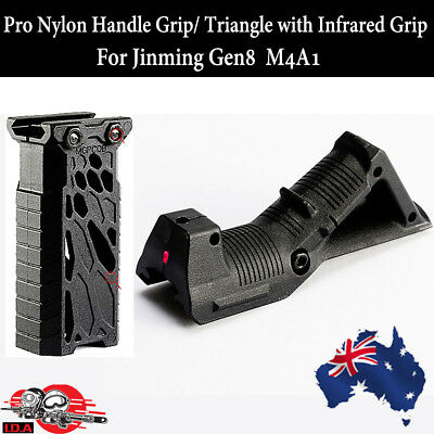 Fore front Pro Nylon Handle Triangle Infrared Grip Gel Ball Blaster Jinming M4A1