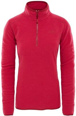 THE NORTH FACE TNF 100 Glacier 1/4 Zip T92UAV6ZD Polaire Pull-Over pour Femmes