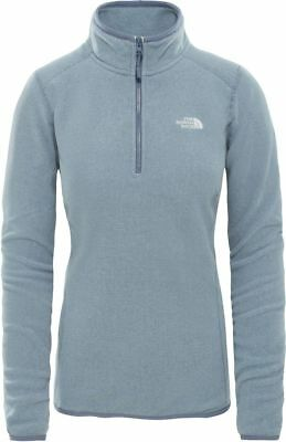 THE NORTH FACE TNF 100 Glacier 1/4 Zip T92UAV6ZF Polaire Pull-Over pour Femmes