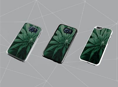 Smoking Weed Marijuana Cannabis Leaf Bud High  Plastic/ TPU Phone Case Cover